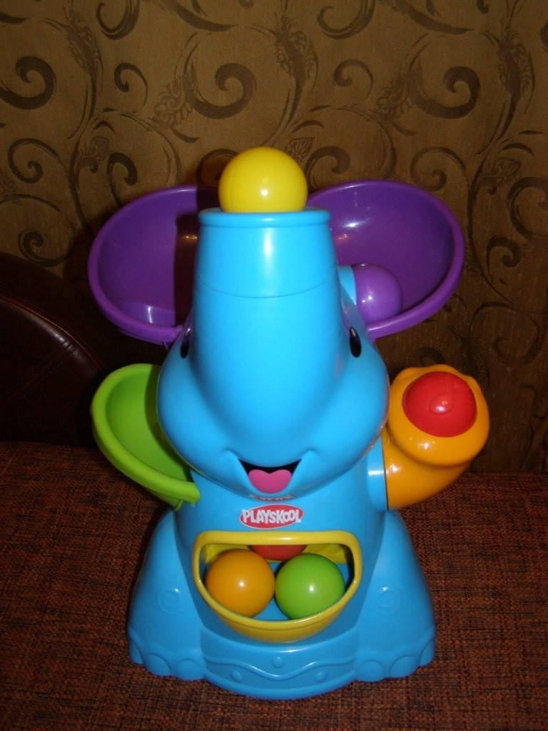 playskool хасбро слоник